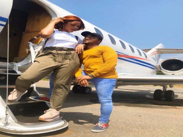 Popular gospel artiste, ADA celebrates hubby in grand-style