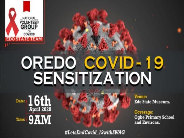 Edo group goes tough, sensitizes community as Covid-19 confirmed cases rise