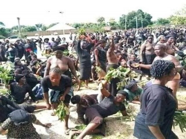 We Can't Breathe! Kaduna women protest naked over persistent killings, reject excuses
