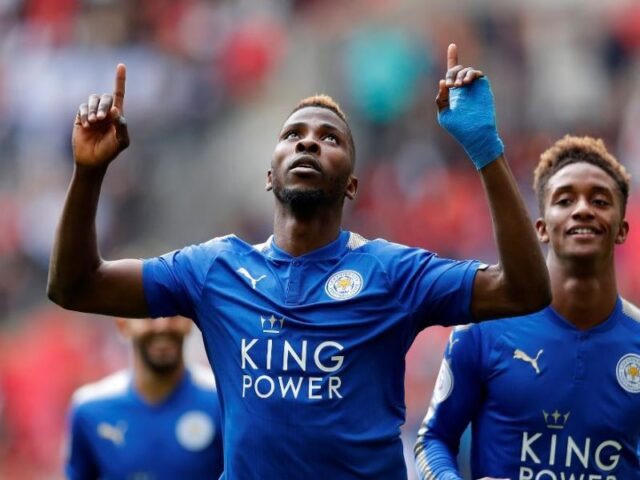 Iheanacho records 5th goal, scores in Foxes' 3-0 win