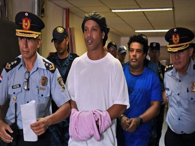 Soccer legend, Ronaldinho regains freedom from Paraguay detention
