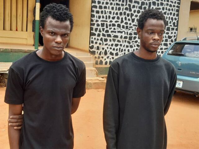 Two siblings-robbery suspects nabbed
