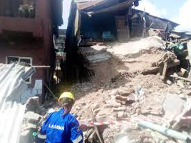 Tragedy: Obosi collapsed building claims one life, injured another