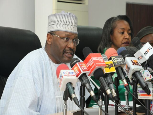INEC chairman, Yakubu vacates office as tenure elapses